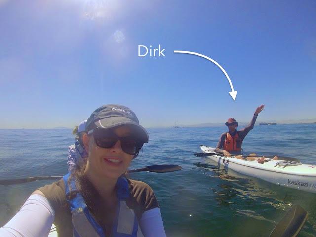 Kaskazi Kayak tour in Cape Town