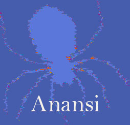 Anansi is a tricky spider who gets into all sorts of trouble in African Folklore stories.