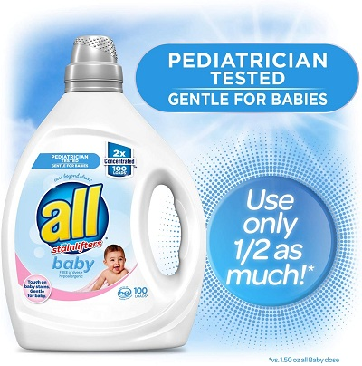 All with Stainlifters Baby Detergent