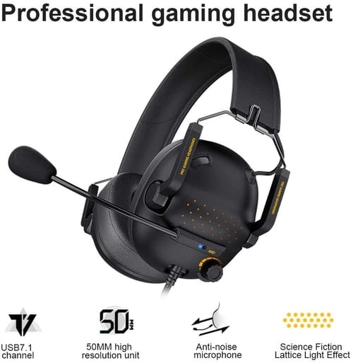 OOX PS4 Headset with 7.1 Surround Sound Stereo
