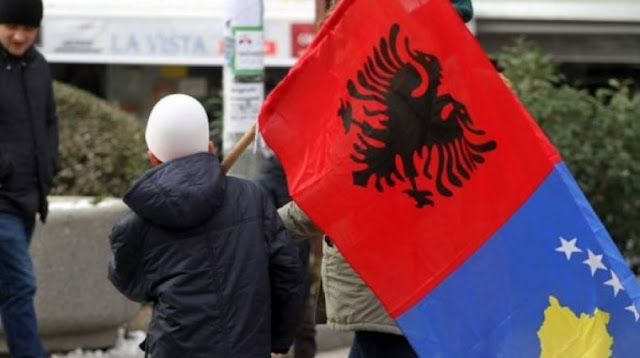 75 percent of Albanians want unification with Kosovo