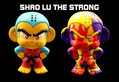 Designer Con 2017 Exclusive Shao Lu The Strong Mini Resin Figures by Hyperactive Monkey x Macsorro