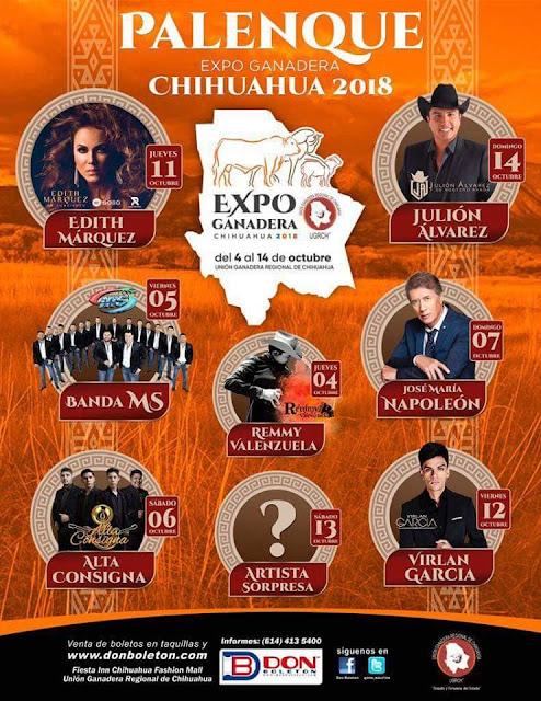 expo ganadera chihuahua 2018