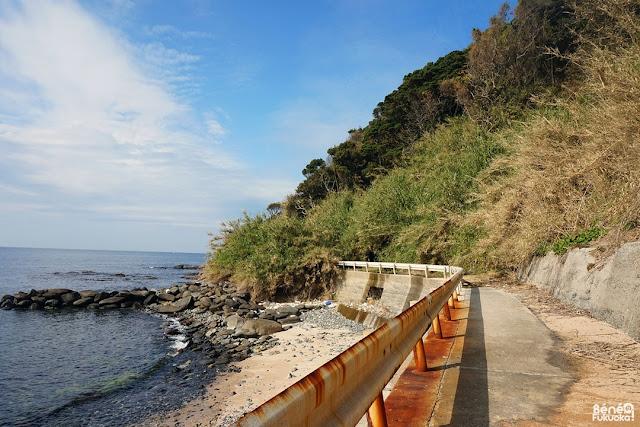 玄海島で地滑り、福岡