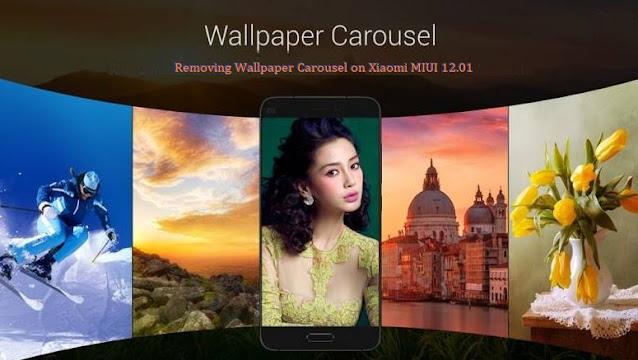 Cara Menghilangkan Wallpaper Carousel di Xiaomi MIUI 12.0.1 Global Stable