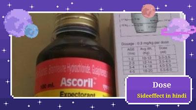 Ascoril LS Syrup In Hindi