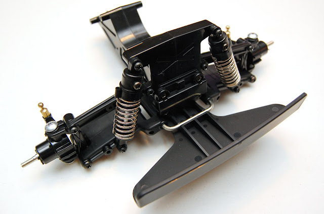 Tamiya Blackfoot front suspension