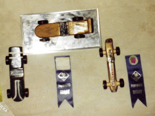 David Marceau Pinewood Derby Cars