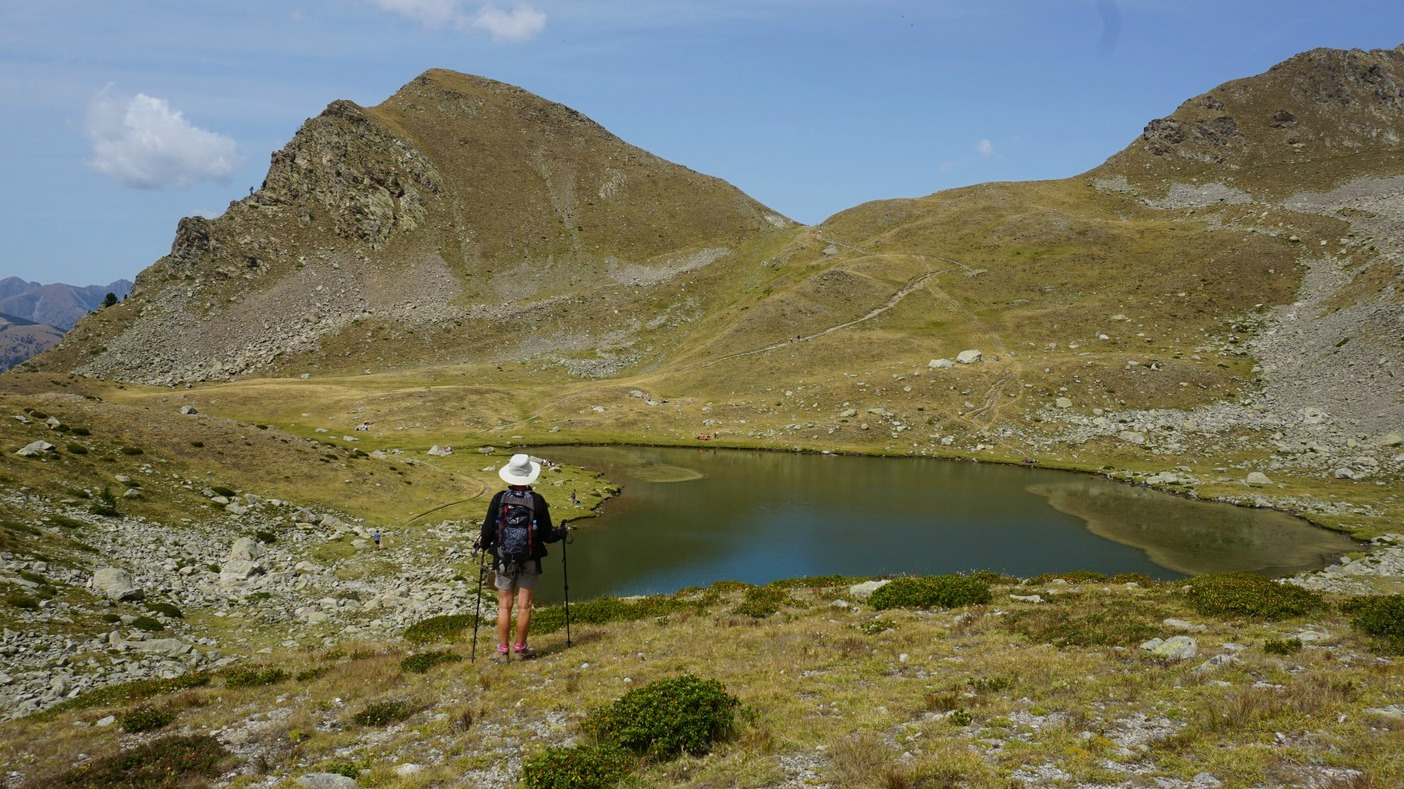 Lacs de Prals above Madone