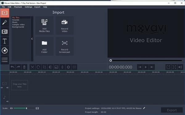 تحميل برنامج مونتاج خفيف movavi video 4