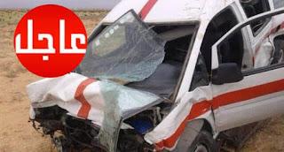 عاااجل :/ حادث مروع يخلف 6 قتلى من بينهم جندي.......الصور