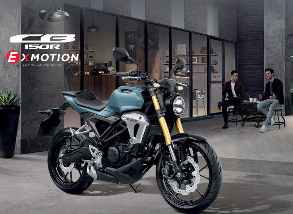 Honda Thailand resmi merilis CB150R Exmotion, perawakannya padat dan berisi sob