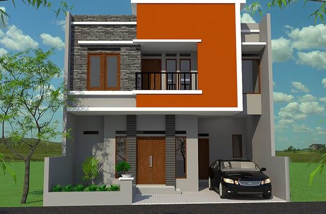 Model Rumah Minimalis Bertingkat 2 Modern Desain Rumah Idaman