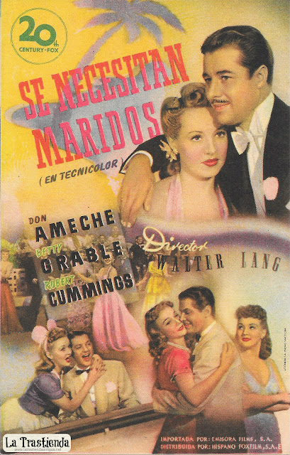 Se Necesitan Maridos - Programa de Cine - Don Ameche - Betty Grable