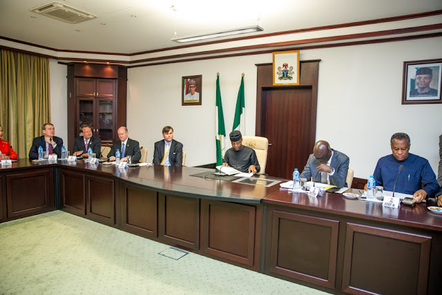 Vice President Osinbajo Meets With US Congressmen to boycott Nigerian Looters Taking Our Money to Abroad And About  Repatriation Of Corruption Proceeds