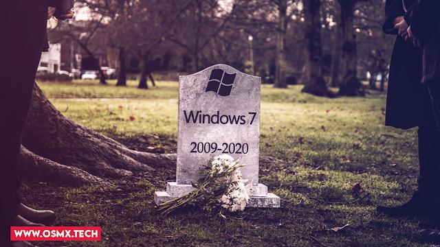 لو مازلت تستخدم ويندوز 7 يجب عليك تغييره فورا - RIP Windows 7
