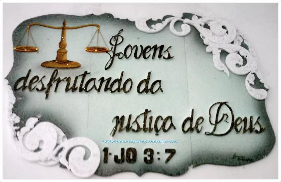 Festividade de jovens   /   1ª João 3:7