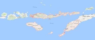 Peta Wilayah Provinsi Nusa Tenggara Timur