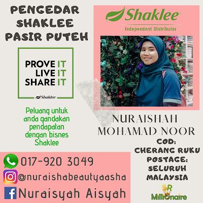 Pengedar Shaklee Pasir Puteh Kelantan