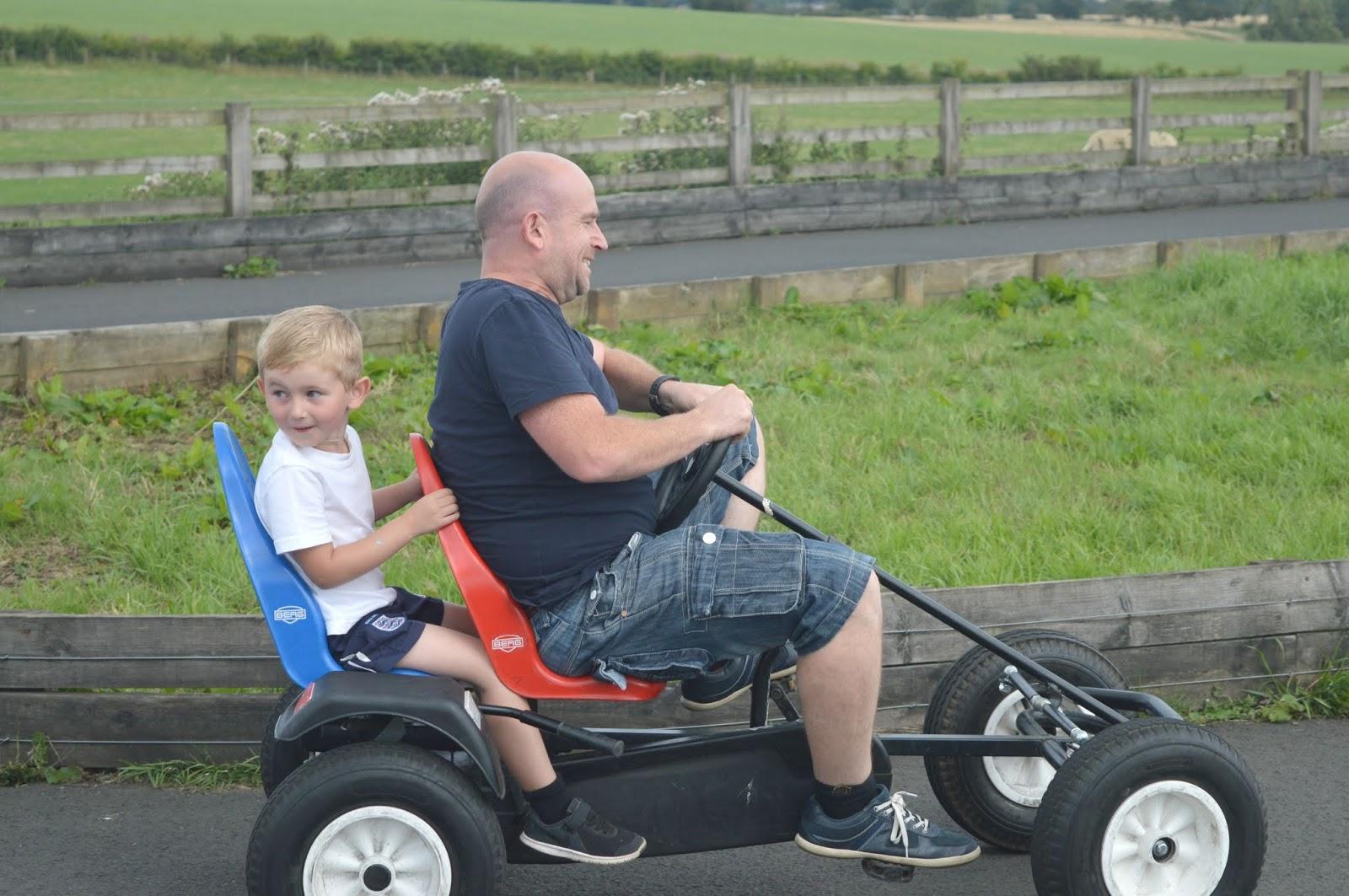 Whitehouse Farm, Northumberland - Go Karting