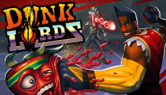 Dunk Lords choose one of 16 basketball players, each of which has unique special attacks and abilities, and fight in various playgrounds.