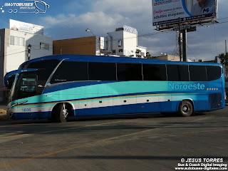 Linea: Noroeste Autobus: Marcopolo MP120 G7 Plus Autor: Jesus Torres