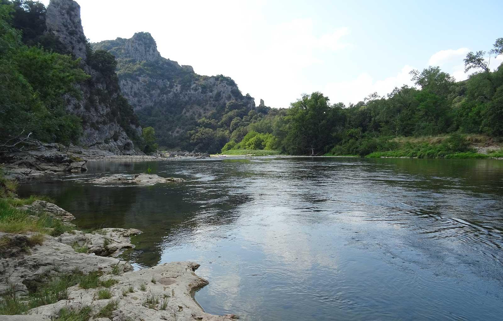 Balades randonnées gorges de l'Ardèche