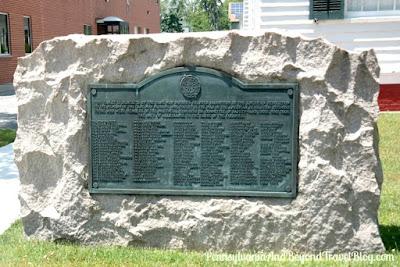 Cape May Revolutionary War Patriot Memorial in New Jersey