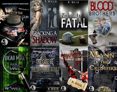 Buy the entire Jarvis Mann Series by R. Weir on Amazon!
