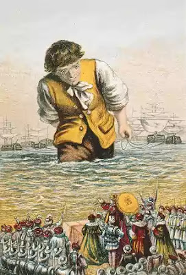 It had been speculated that Gulliver's Travels had been written somewhere between 1715 - 1720, but when the letters from Swift to Charles Ford were discovered, the book was finally revealed to have been written between 1721 and 1726.