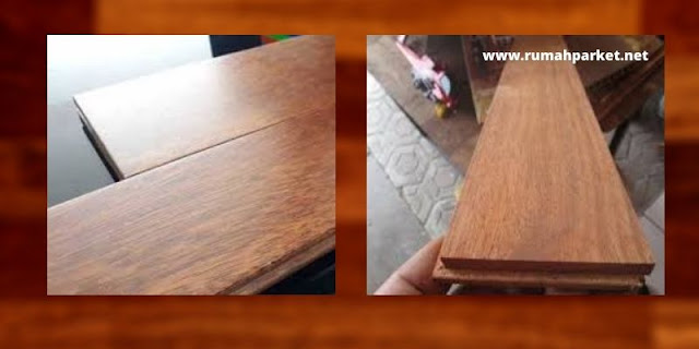 Mini Flooring Kayu Merbau UV Coating