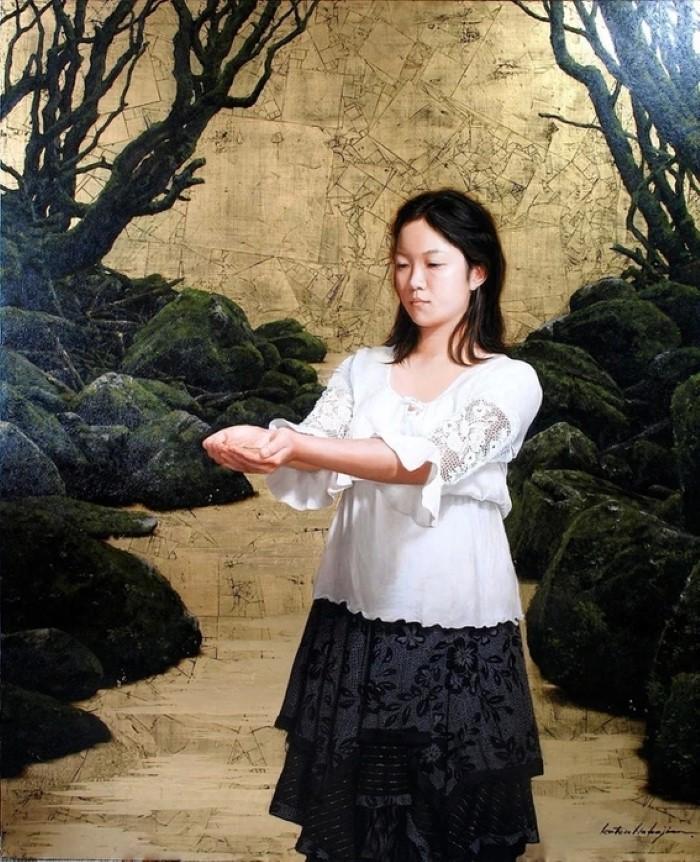 Японский художник.