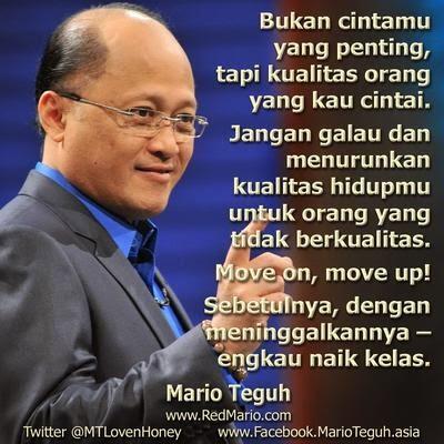 Kata Kata Motivasi Galau Cinta Mario Teguh