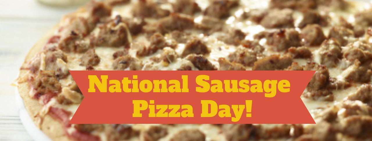 National Sausage Pizza Day Wishes Sweet Images