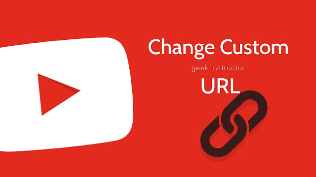 Change YouTube channel custom URL