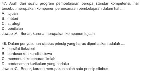 Soal UKG (Uji Kompetensi Guru) Tingkat SD, SMP, SMA/SMK