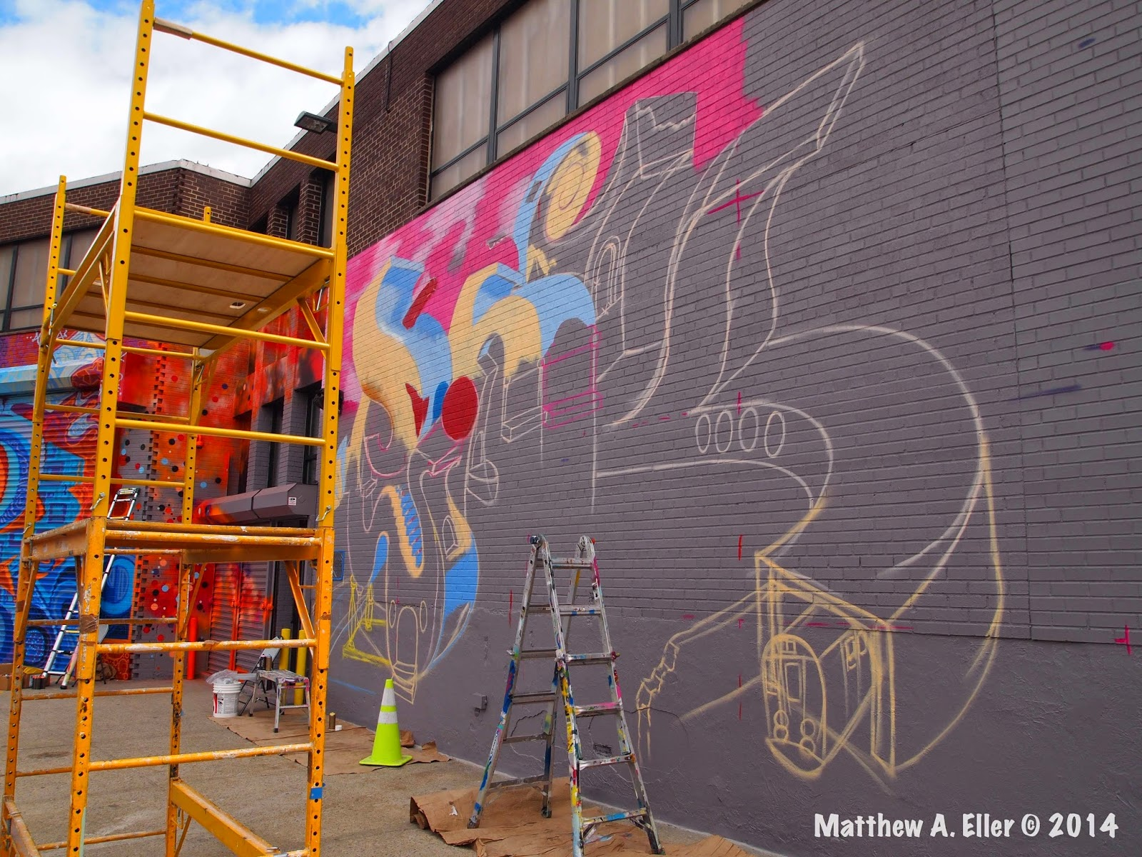 Preview 106 Bayard Graffiti Project Feat Futura 2000 Dr