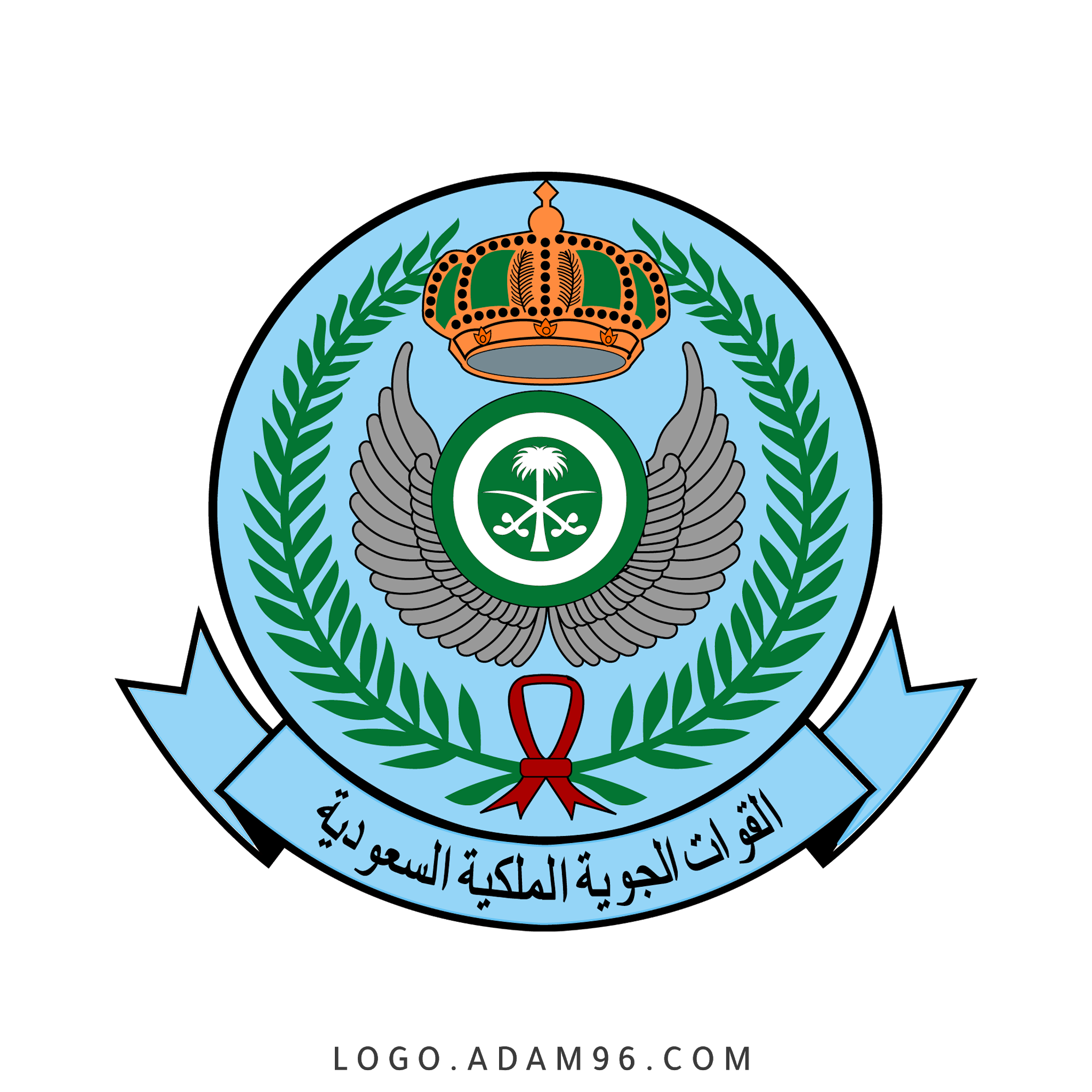 تحميل شعار القوات الجوية الملكية السعودية لوجو رسمي عالي الجودة PNG