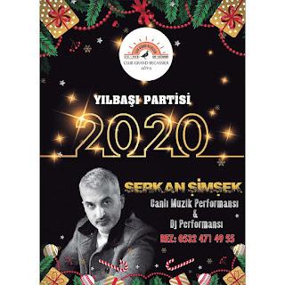 Ağva Club Grand Becassier İstanbul Yılbaşı Programı 2020 Menüsü