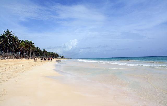 Praia Macao em Punta Cana