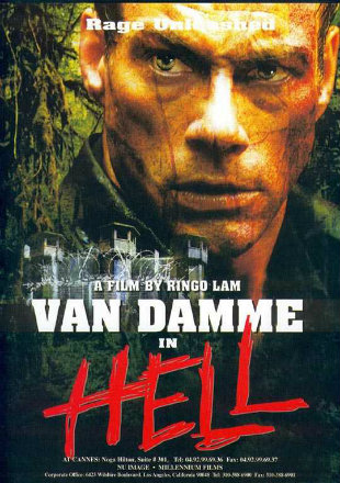 In Hell 2003 Dual Audio BRRip 720p Hindi English