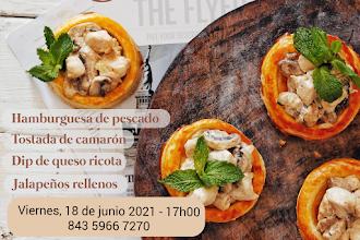¡Cocina con nosotros! Finger Food - 18 de junio