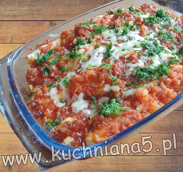enchilada z drobiu