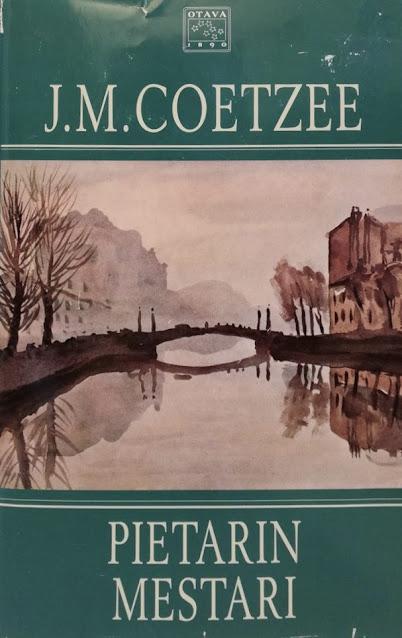 J. M. Coetzee - Pietarin mestari -kirjan kansi