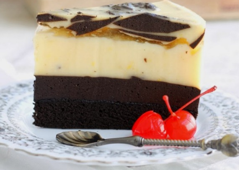 Cara Membuat Puding Cake yang Lembut - RESEP KEKINIAN