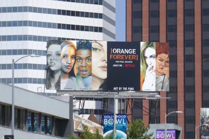 Orange is the New Black final season billboard