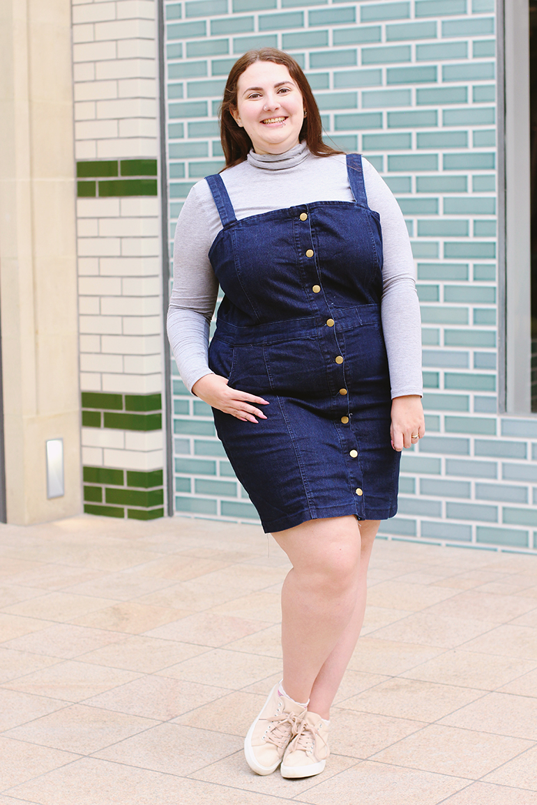 Cute casual plus size outfit