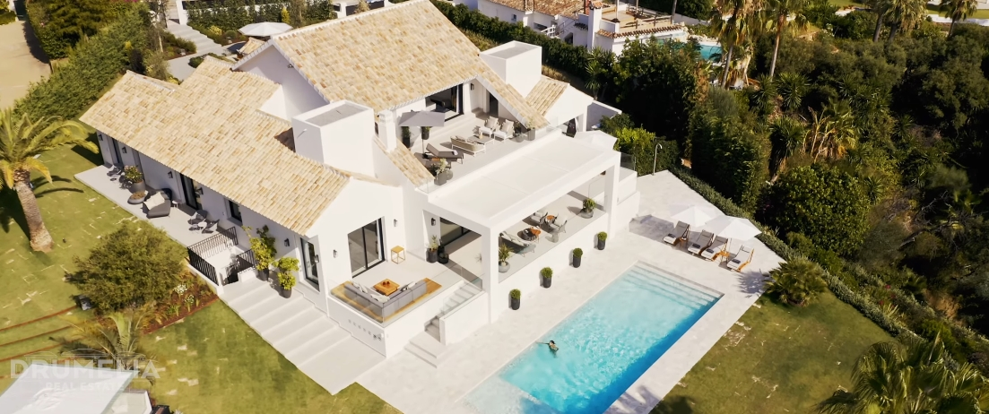 28 Interior Design Photos vs. El Rosario, Marbella East Luxury Villa Tour