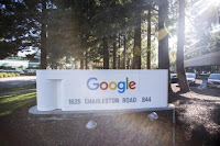 The new Google logo is seen at the Google headquarters in Mountain View, California November 13, 2015. (Credit: Reuters/Stephen Lam) Click to Enlarge.