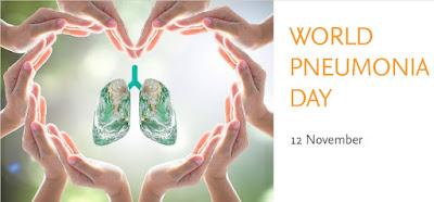 Παγκόσμια Ημέρα κατά της Πνευμονίας / World Pneumonia Day